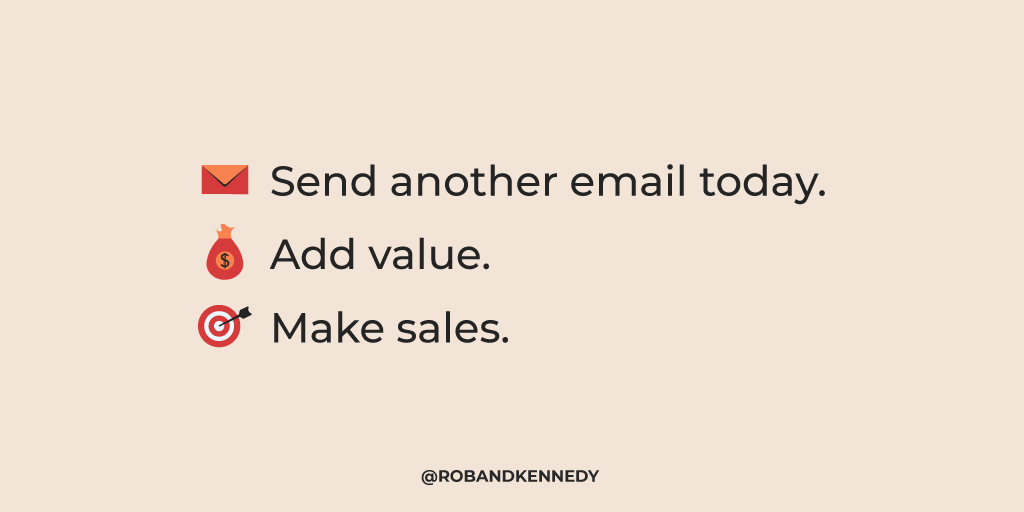 email sales strategy