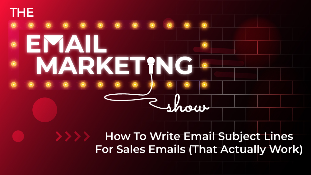 Email Subject Lines For Sales Emails
