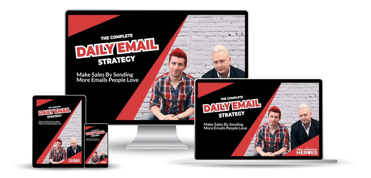 complete daily email strategy